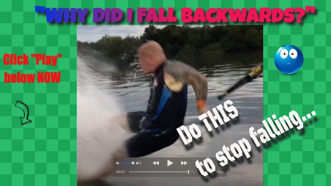 Why did I fall backwards?