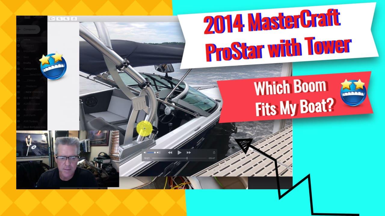 2014 MasterCraft ProStar with Tower