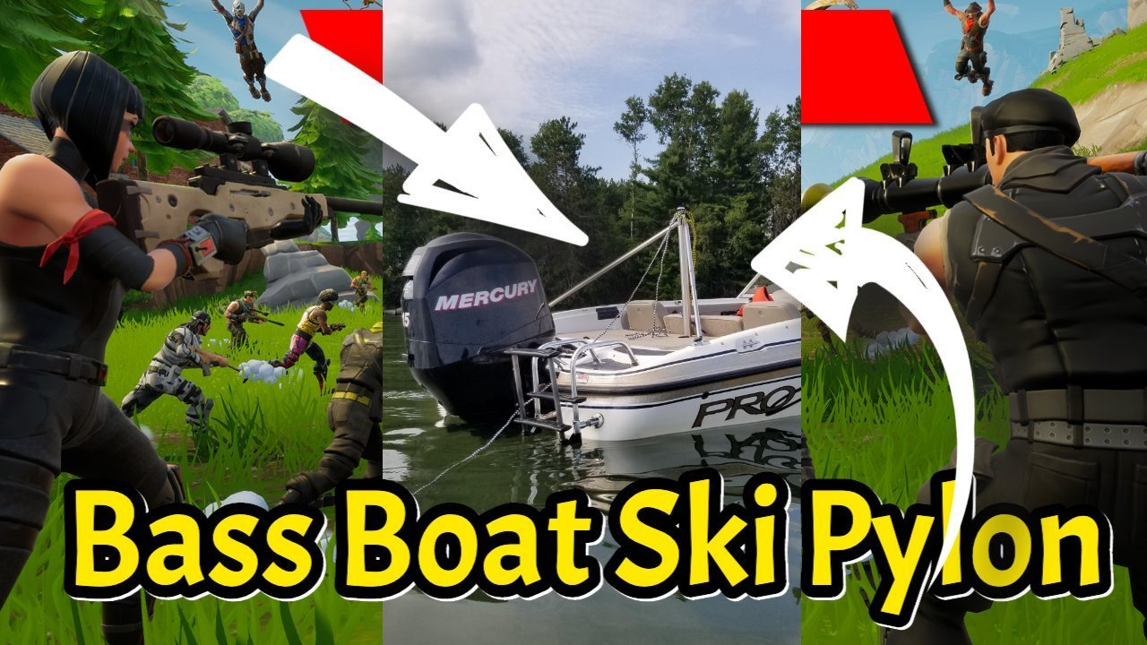 Bass Boat Ski Pylon Pro Level